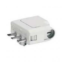 Fiches DCL 2P+T - 6A pour connexion luminaire - ALB 68005 Schneider Lot de 10