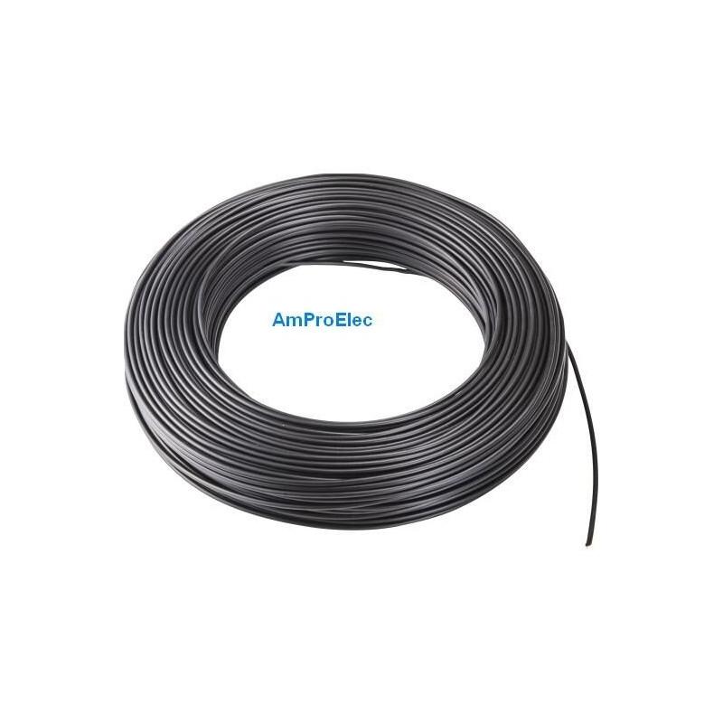 Fil électrique souple HO7-VK 4-6-10-16-25 et 35 mm² - 2-5-10-15-20 m 5 Couleurs