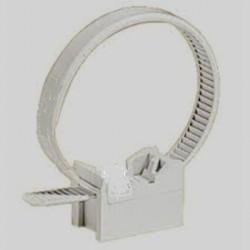 Attache collier à embase pour fixation Tube IRL de 16 à 32 lot de  100 pièces
