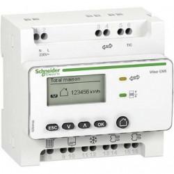Compteur de consommation  électrique Wiser EM5 + 5tc  Schneider Réf EER39000