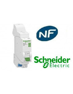 Disjoncteur 1p + n 2A - courbe C - Embrochable resi9 xe Schneider  R9EFC602