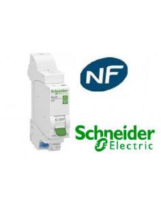 Disjoncteur 1p + n 16A - courbe C - Embrochable resi9 xe Schneider  R9EFC616