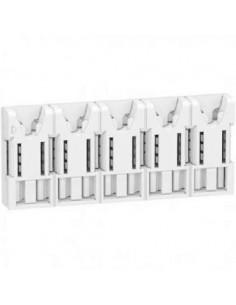 Répartiteur embrochable  5 modules XE Resi9  1P+N 63A -  Schneider R9EXHS05