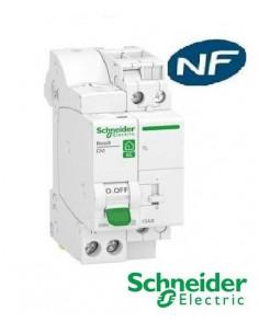 Combiné Disjoncteur + télérupteur embrochable XE 1P+N 10A - Schneider R9ECL610