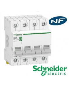 Interrupteur sectionneur 4x63 A - rési9 XP   - Schneider R9PS463