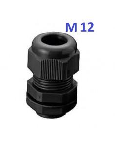 Presse étoupe noir M12 -...