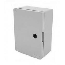 Armoire électrique étanche saillie -  300 x 200 x 130 mm  avec plaque de fond